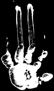 Logo Jelodanti Records - Pochoir Left Hand
